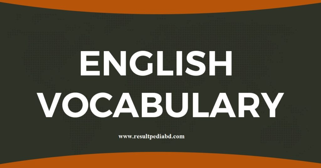 Most Important Vocabulary For Job Exam