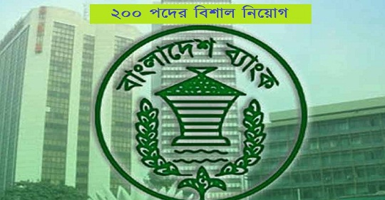 Bangladesh Bank (BB) job circular 2021