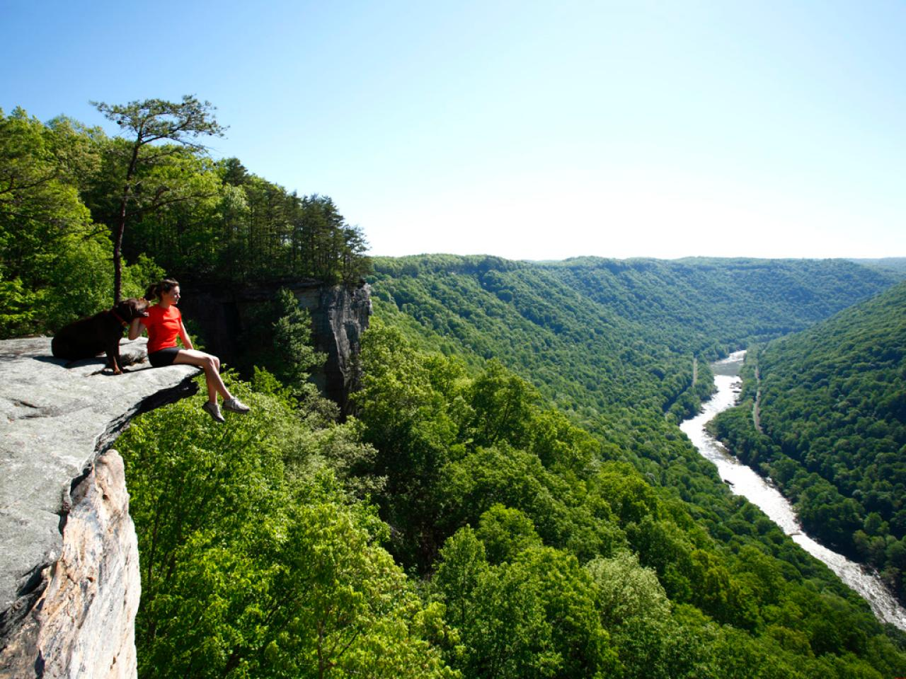 Adventure Travel Trip in West Virginia's River
