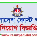 Bangladesh Coast Guard Job Circular 2021-www.coastguard.gov.bd
