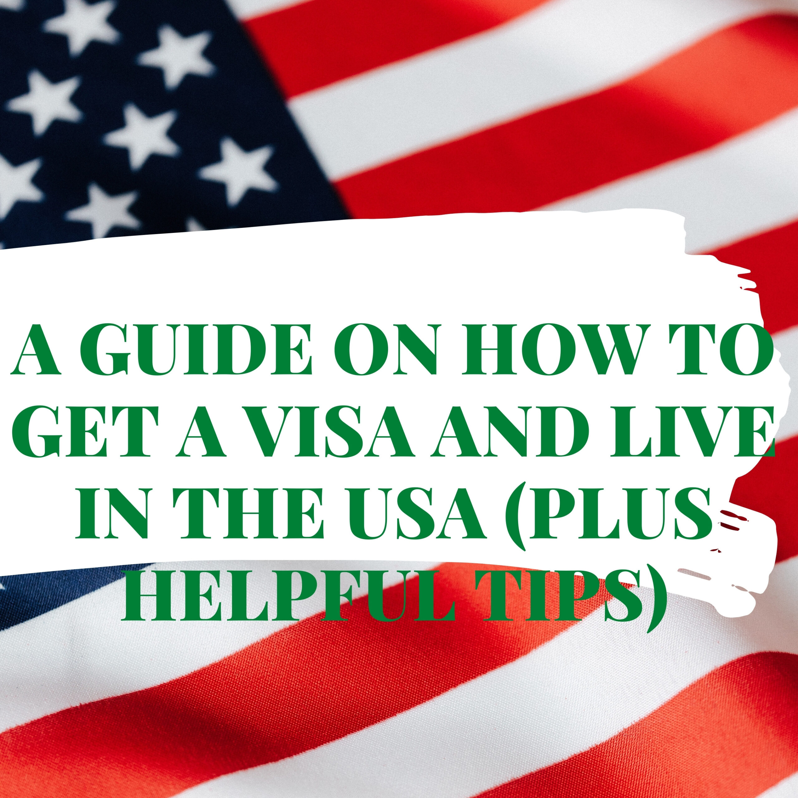 A Guide on How to Get a Visa and Live in the USA (Plus Helpful Tips)